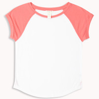 Short Sleeve Baseball Tee (Kids)