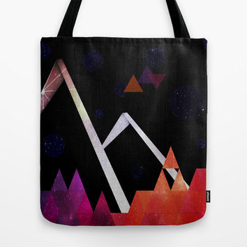 Space Mountain Tote Bag by DuckyB (Brandi)