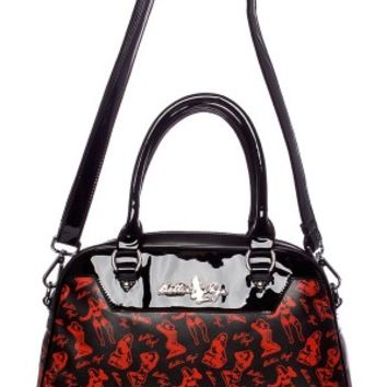 Bettie Page Bowler Bag