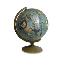 $450.00 Where The Wild Things Are Globe by wendygold on Etsy