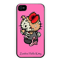 Zombie Hello Kitty Poster Design iPhone 4/4S Case