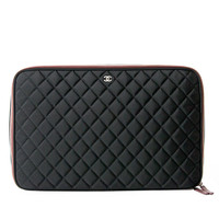 Chanel Limited Quilted Laptop Case
