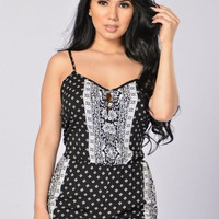 Marry The Night Romper - Black