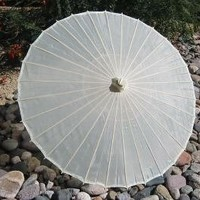 White Cloth Parasol