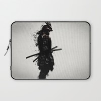 Armored Samurai Laptop Sleeve by Nicklas Gustafsson