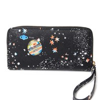 Women Wallet Female Leather Purse Card Holder Long Clutch Space Wristlet Phone Coin Purses Printing Designer Cash Pocket Wallets
