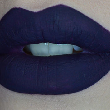 Vice DNA Liquid Lipstick Matte Finish Long Lasting Lip Paint Dark Purple Neutral Hi Pigment Liquid Lipstick