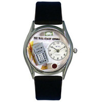 Accountant Watch Small Silver Style