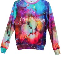 Dizzying Galaxy Sweatshirt
