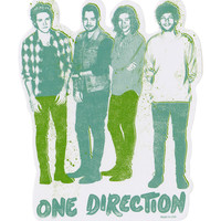 One Direction Group Sticker
