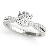 Multi-Row Engagement Ring
