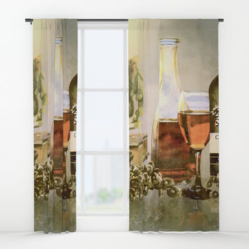 Dreams of Tuscany Window Curtains by Theresa Campbell D'August Art