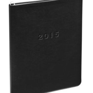 2015 Monthly Large Black Cambridge Planner
