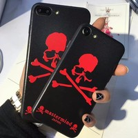 Mastermind Japan Phone Cases For iPhone 7 7 plus 6 6plus Matte Coque Back Cover