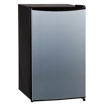 Midea 3.3 Cubic Feet Compact Single Reversible Door Refrigerator with Freezer