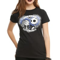 The Nightmare Before Christmas Simply Meant To Be Girls T-Shirt