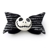 Jack Skellington Hair Bow - Spiffing Jewelry