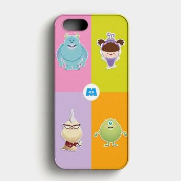 Monster Inc Cute Baby iPhone SE Case