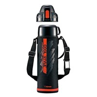 ZOJIRUSHI Water bottle stainless steel bottle 2WAY cup & direct SP-HB10-BR