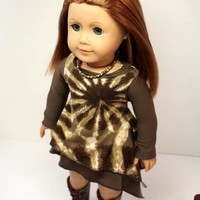 American Girl Doll Clothes-Layered Trendy Tunic