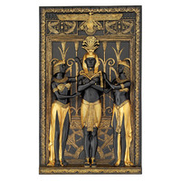 Park Avenue Collection Egyptian Pharaoh And His Maidens Plaque