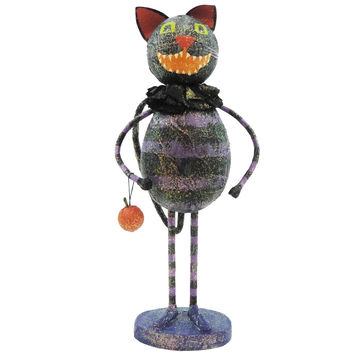 Halloween VINTAGE CAT Styrofoam, Mixed Media FHO282 CAT