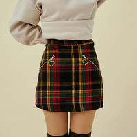 My Mini Checked Skirt