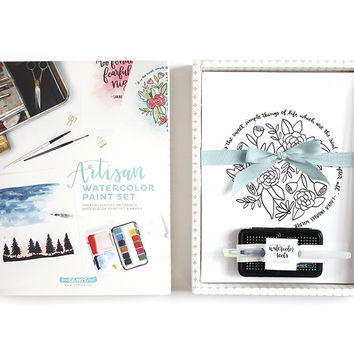 Artisan Watercolor Paint Set