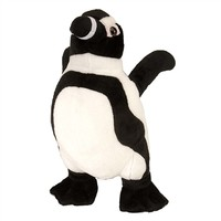 Plush Black-Footed Penguin 12 Inch Stuffed Bird Cuddlekin By Wild Republic