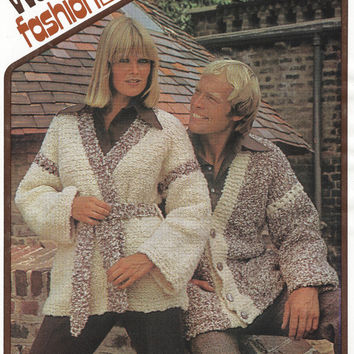 Best Vintage Knitted Jacket Pattern Products On Wanelo