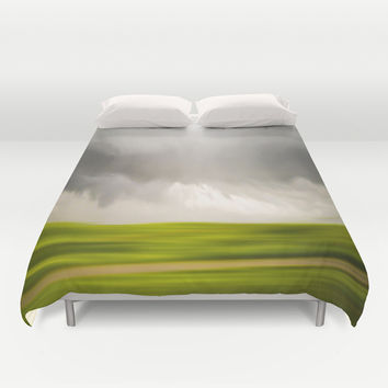 Stormy May Day Duvet Cover by Armine Nersisian