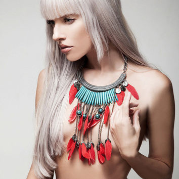 Feather Glory Necklace