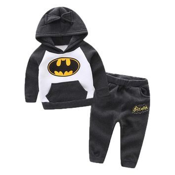 Newborn Clothes 2017 Autumn Winter Baby Girls Boys Clothes Set Hoodies+Pant 2pcs Outfits Christmas Suit Infant Clothing
