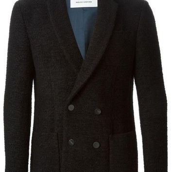 Mauro Grifoni Double Breasted Peacoat