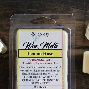 Wax Melts - Lemon Rose