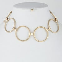 The Lindsay Necklace- Gold