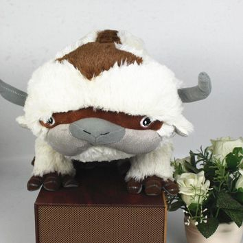 """Avatar: The Last Airbender Aang Appa Sky Bison Stuffed Doll Plush 20"""" Toy Pillow Cosplay Christmas Gift"""