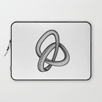 Shape 1 Laptop Sleeve by White Print Design