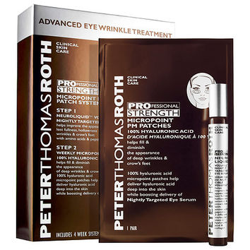 PROfessional Strength MicroPoint PM Patch System Advanced Eye Wrinkle Treatment - Peter Thomas Roth