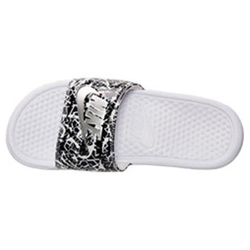 Women's Nike Benassi Jdi Print Slide Sandals | Finish Line