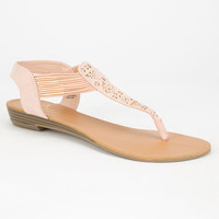 Celebrity Nyc Hope Womens Sandals Natural  In Sizes