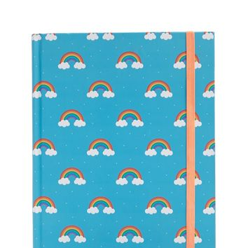 Graphique de France Rainbow Hardbound Journal