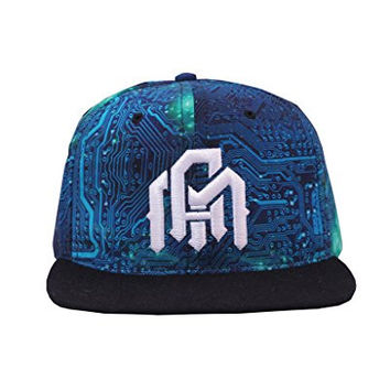 INTO THE AM Cyber Space Rave Snapback