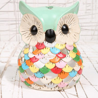 Owl Tea Light Holder at Urban Outfitters