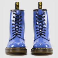 1460 W DUSTY BLUE PATENT LAMPER
