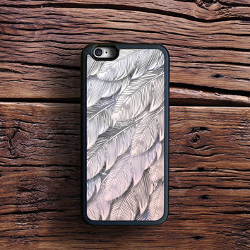 iridescent pink feathers Case iPhone 6s Plus, iPhone 6 case, iPhone 5s 5C 4s Case, Samsung Case, iPod case, iPad Case, HTC Case, Nexus Case, LG case, Xperia case