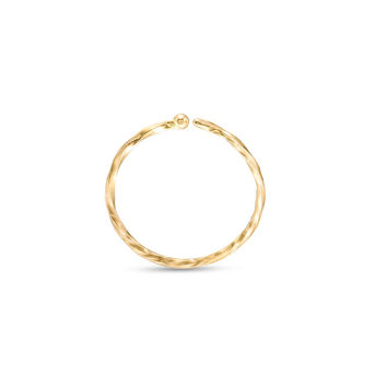 020 Gauge Twist Nose Ring in 14K Gold - 5/16"