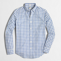 Factory washed shirt in bold open tattersall - Washed Shirts - FactoryMen's Shirts - J.Crew Factory