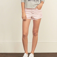 High Rise 2 Inch Rigid Denim Shorts