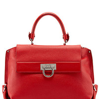 "Some of you have to get in on this: Salvatore Ferragamo ""Sofia"" Medium Leather Satchel"